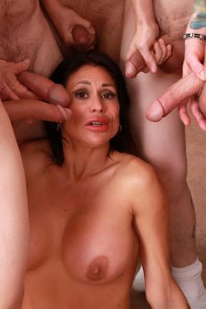 Gangbang Moms Porn