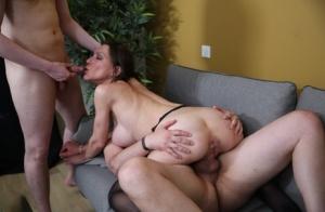 Moms Threesome Porn